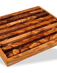 Brødskærebræt med bakke