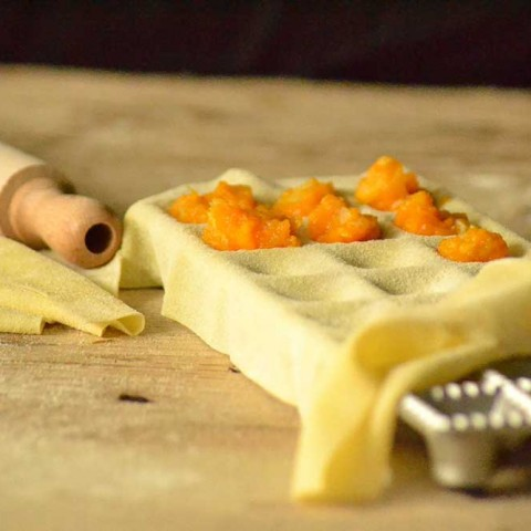 Ravioli-form | firkantede ravioli