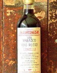 Rabasco   Vino rosso Cancelli