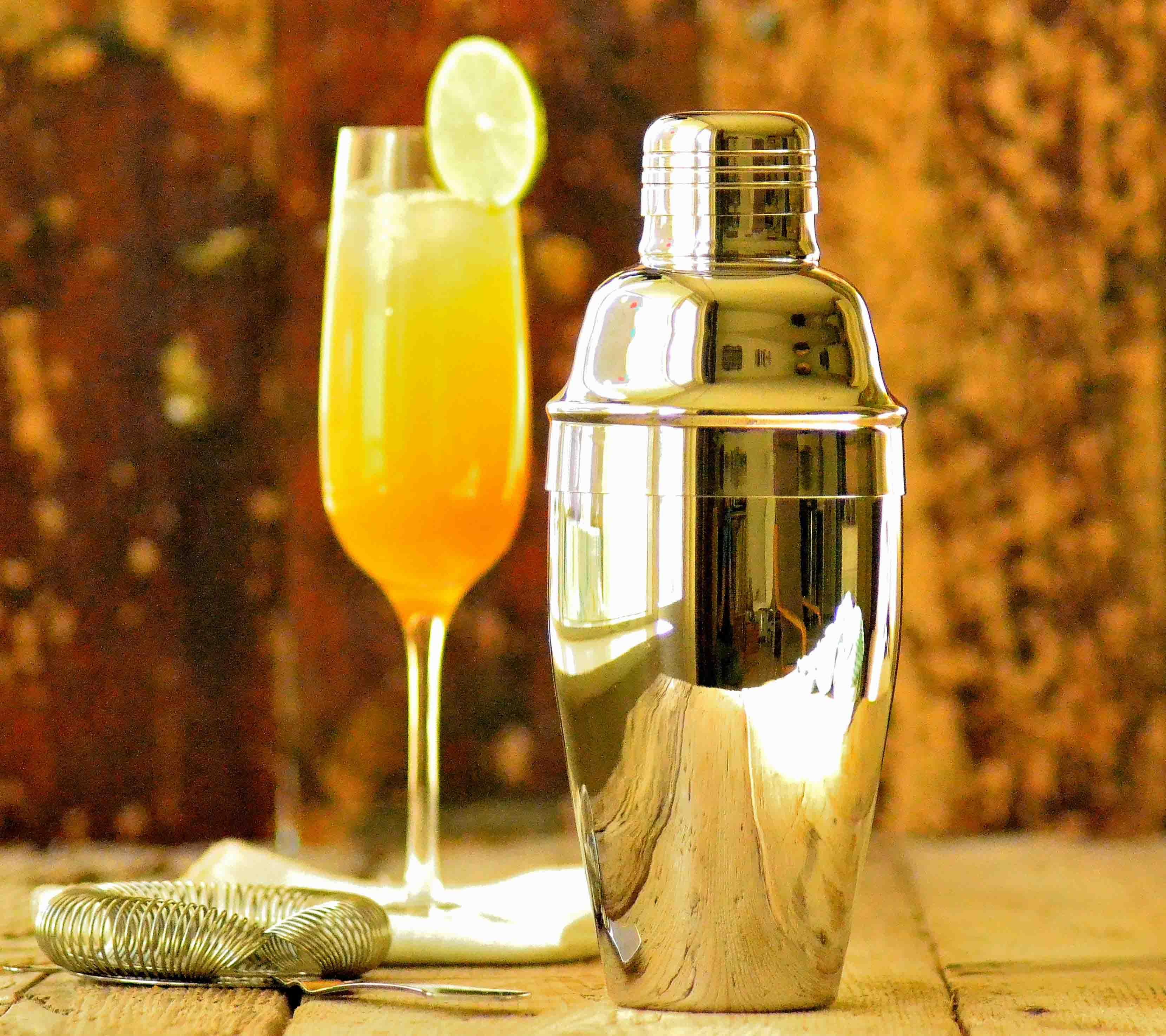 Klassisk cocktail shaker