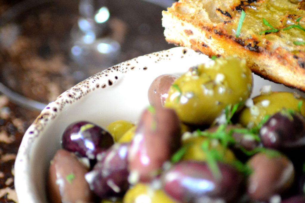 olivenskål