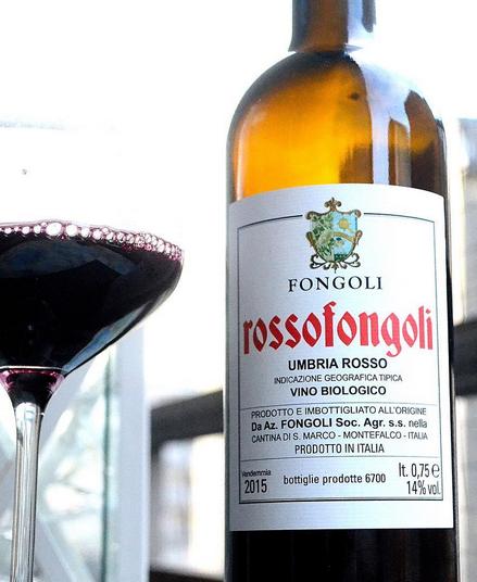 Fongoli | RossoFongoli 2015 | Sangiovese mfl.