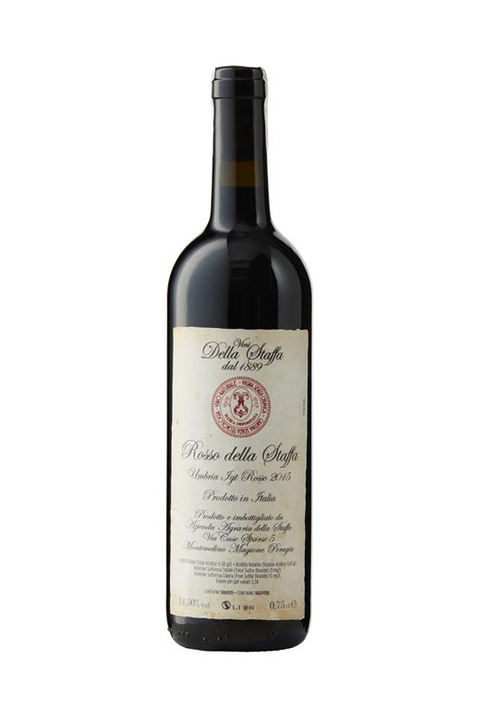 Vini Conestabile della Staffa | Rosso della Staffa 2015 | Sangiovese mfl.